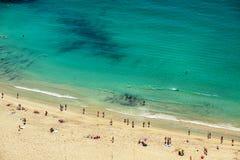 Пляж рая Стоковое Изображение
