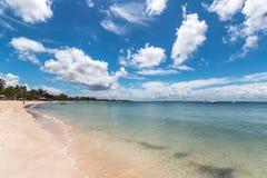 Пляж рая Pemba, северный Мозамбик Стоковое Изображение