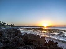 Пляж рая Pemba, северный Мозамбик Стоковые Изображения RF