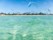 Пляж рая Pemba, северный Мозамбик Стоковые Изображения