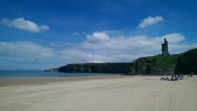 Пляж радужки Стоковое фото RF