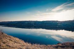 Пляж реки 2 Dnipro Стоковые Изображения RF