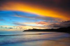 Пляж самары Стоковые Фото