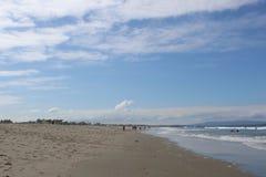 Пляж Санта-Моника, Калифорнии Стоковое Изображение RF