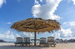 Пляж салона Стоковые Фото
