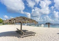 Пляж салона Стоковые Фотографии RF