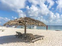 Пляж салона Стоковое фото RF
