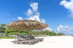 Пляж салона Стоковое Изображение RF