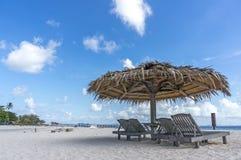 Пляж салона Стоковое Изображение