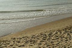 Пляж Северного моря Стоковая Фотография RF