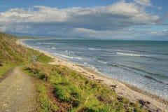 пляж сиротливый Стоковая Фотография