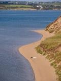 пляж сиротливый Стоковые Фото