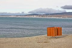 пляж сиротливый Стоковые Изображения
