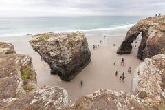 Пляж соборов Стоковое Фото