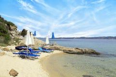 пляж совершенный Стоковая Фотография
