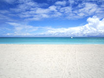 пляж совершенный Стоковые Фотографии RF