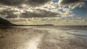 Пляж Сомерсета стоковая фотография