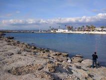 Пляж стороны Антальи Стоковое Изображение RF