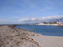 Пляж стороны Антальи Стоковая Фотография RF