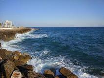 Пляж стороны Турции Антальи Manavgat Стоковое фото RF