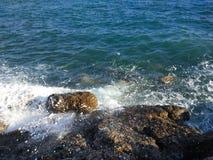 Пляж стороны Турции Антальи Manavgat Стоковая Фотография RF