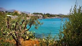 пляж сценарный Стоковые Фото