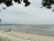 Пляж сына Suan на Rayong, Таиланде Стоковое фото RF