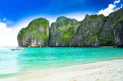 Пляж Таиланда Стоковые Изображения RF