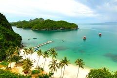 пляж Таиланд samui Стоковые Изображения RF