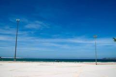 Пляж Танжера Стоковые Изображения
