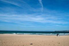 Пляж Танжера Стоковое фото RF