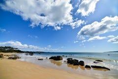 Пляж Тасмания Hawley Стоковое Изображение RF