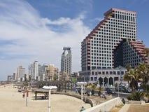 Пляж Тель-Авив Стоковое Изображение RF