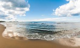 Пляж Тосканы Стоковые Фотографии RF