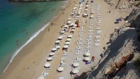 Пляж Турция Kaputas акции видеоматериалы