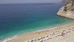 Пляж Турция Kaputas видеоматериал