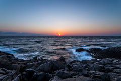 Пляж утеса Seascape в Sinop, Турции Стоковые Изображения