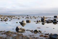 пляж утесистый Стоковое Изображение