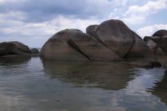 пляж 4 утесистый Стоковая Фотография RF