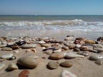 Пляж утесов Стоковые Изображения RF
