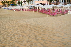Пляж утра Cabo San Lucas Стоковое Фото