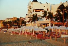 Пляж утра Cabo San Lucas Стоковые Фотографии RF