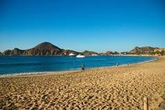 Пляж утра Cabo San Lucas Стоковое фото RF