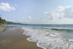 Пляж утра Chumphon Таиланда стоковые изображения rf