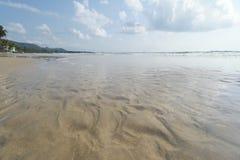 Пляж утра Chumphon Таиланда стоковые фотографии rf