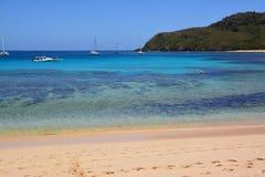 Пляж Фиджи стоковая фотография rf