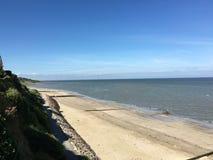 Пляж Франции Стоковые Фотографии RF