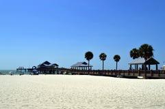 Пляж Флорида Clearwater пристани 60 Стоковые Фото