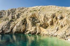 Пляж Хорватии Стоковое Фото
