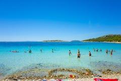 Пляж Хорватия Murter Стоковое Изображение